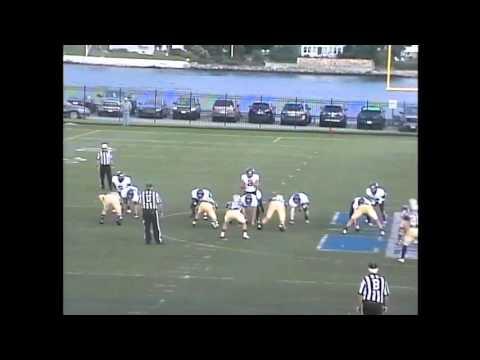 Masscahusetts Maritime Football Highlights vs. SUNY-Maritime 09-11-15
