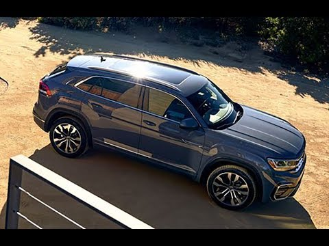2020 VW Atlas Cross Sport - Swoopier Version of the Atlas SUV !