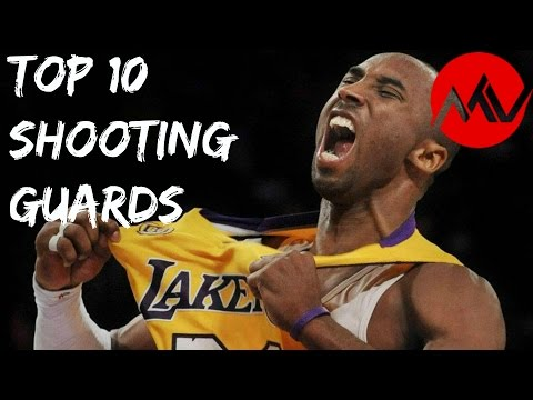 Top 10 NBA Shooting Guards of All Time
