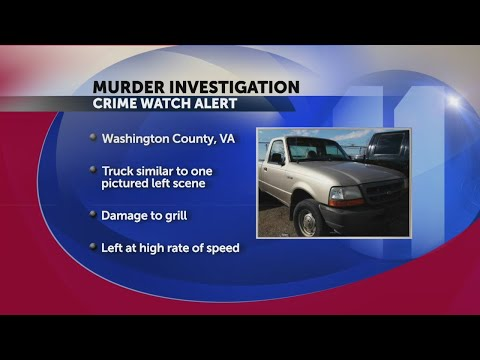 WCSO deputies ask public's help in locating vehicle connected to Bristol, Va. homicide investigation