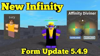 New Infinity Form Update 5.4.9-One Piece Legendary-Roblox