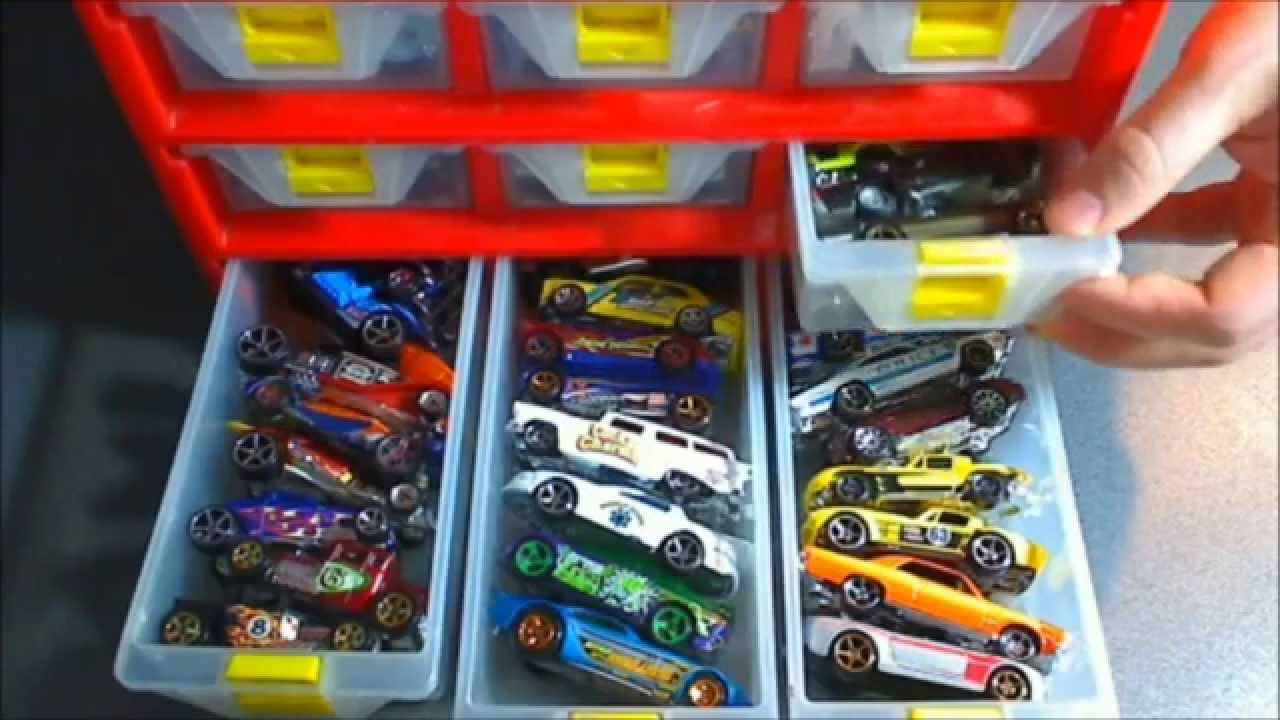 Storage Solutions For The 1:64 Scale Hot Wheels Cars   YouTube