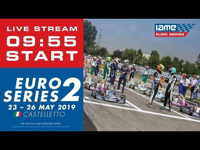 Champions of the Future IAME Euro Series 2019 Round 2 Castelletto Italy - Sunday