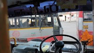karnataka srtc  dangerous bus ride in kerala