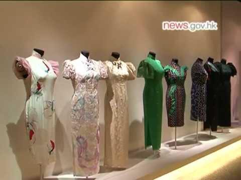 Chinese qipao cheongsam dress exhibition @Hong Kong Museum of History