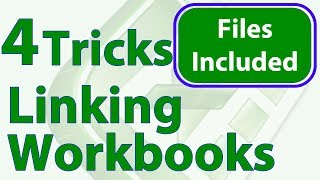 4 Tricks for Linking Workbooks in Excel