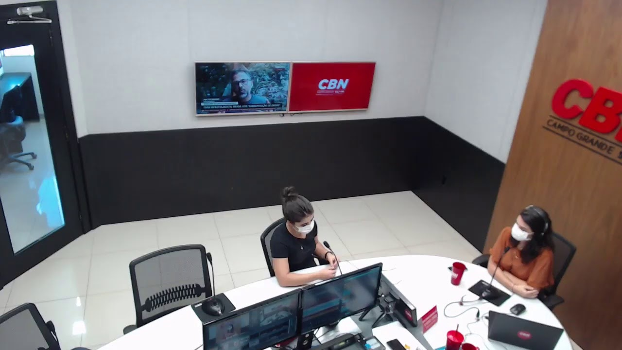 CBN Campo Grande (01/01/2021): com Marcus Moura e Isabelly Melo