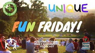 Fun Friday! Week 4 Oct 2nd: COMMUNITY INTERVIEWS with Kristen Tuttle; Unique; and Mindfuln