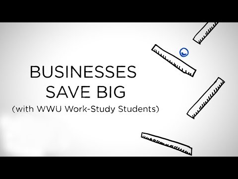Businesses Save Big (With WWU Work Study Students)