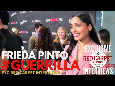 Frieda Pinto interviewed at Showtime's