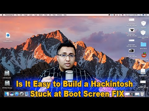 Successful Hackintosh STUCK AT BOOT SCREEN FIX EXPLAINED macOS Sierra  10 12 5
