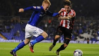 Birmingham City 0-3 Sunderland | Capital One Cup second round | 2014/15