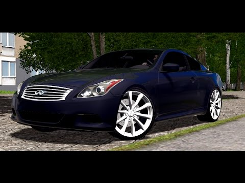 City Car Driving Infiniti G37 S Coupe Link 1080p 60fps