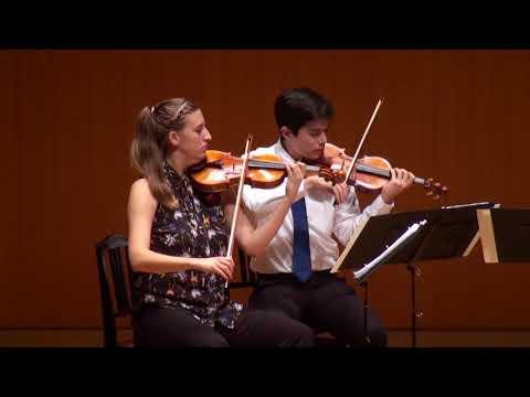 MMCJ Yokohama 2017, Student's Chamber Music, July 12, 2017 - Bartók: String Quartet No.1, op.7 Sz.70