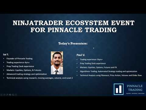 Trade Stocks & Futures with NinjaTrader Tools – Pinnacle Trading