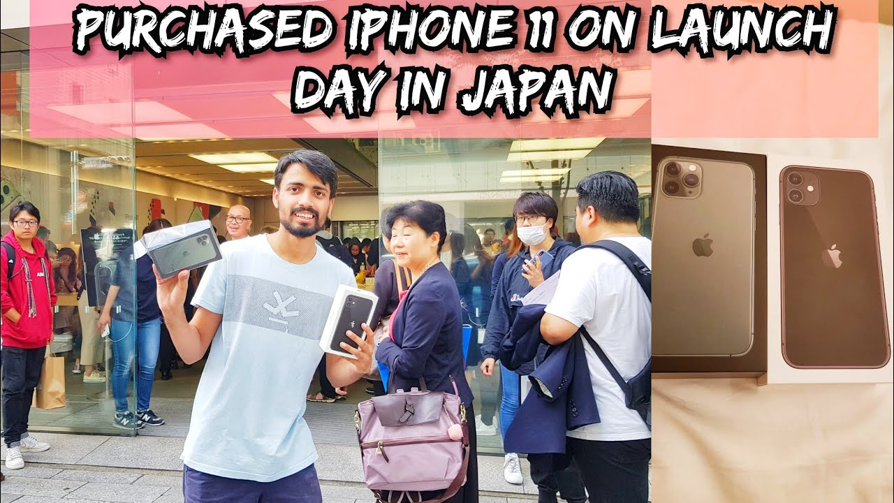 INDIAN Purchasing iPhone 11 and iPhone 11 Pro in JAPAN   Unboxing