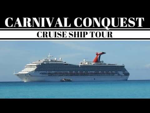 Carnival Conquest Cruise Ship Tour Video