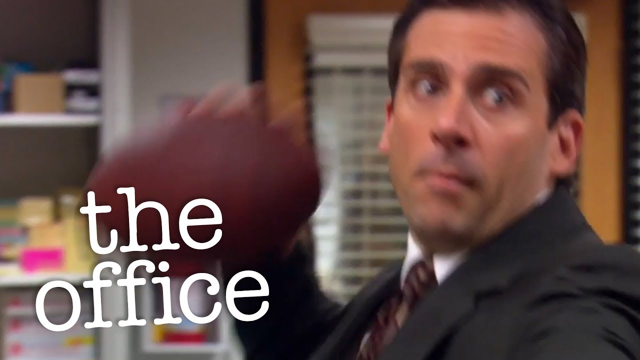 Football In The Office - The Office US - YouTube
