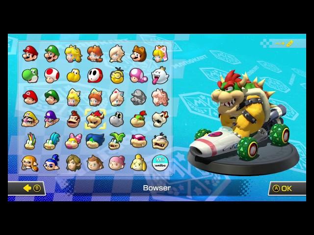 Mario Kart 8 - My first presentation