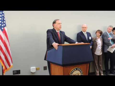 United States Senator John Boozman -  Speech at 2017 Water Week Hart Reception