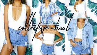 Collective Try-On Summer Haul 2017 || Forever 21, Brandy Melville, LULUS, Sephora & More!