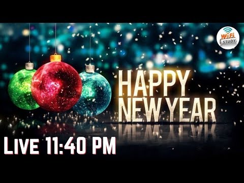 Happy New Year 2018 - Let's Celebrate Together @ 11:40 PM