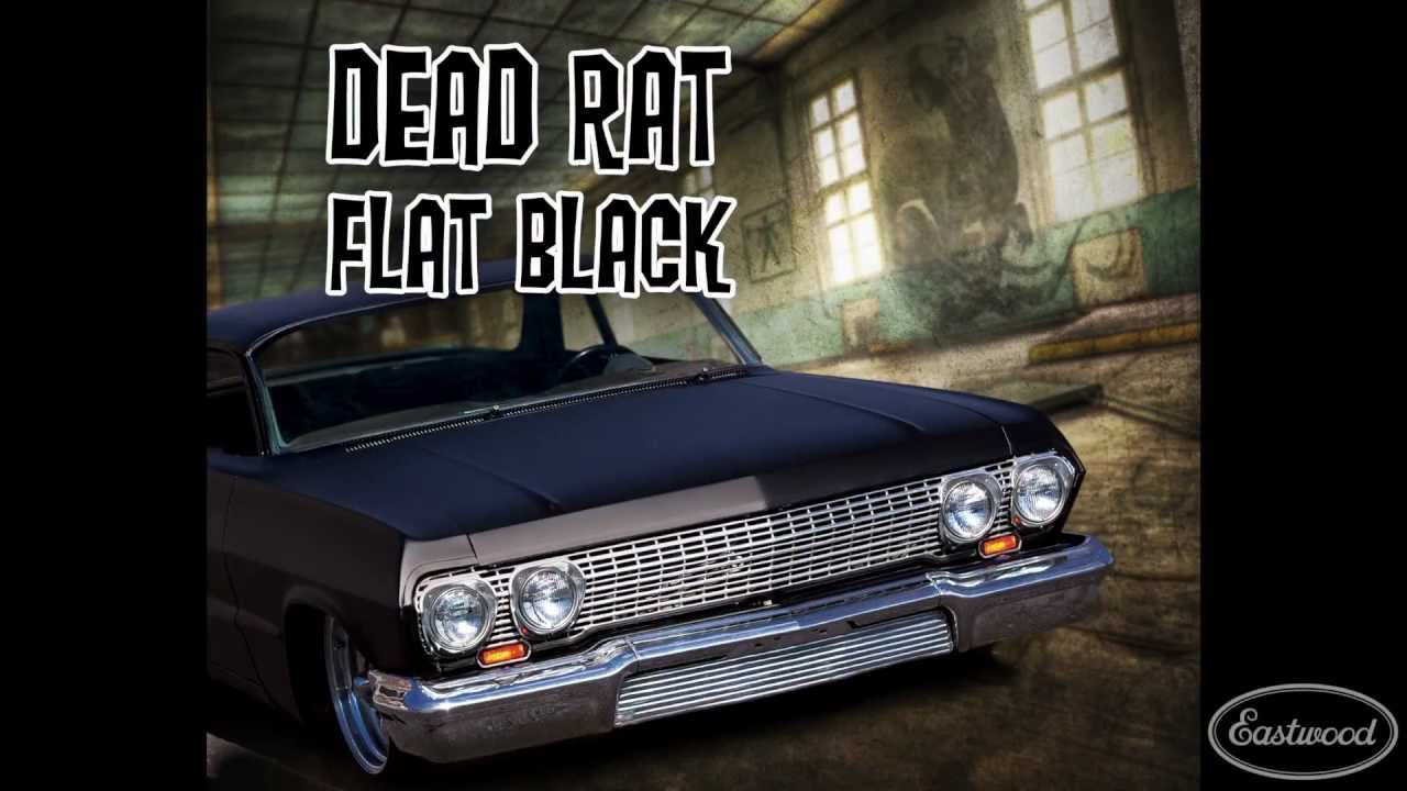 Eastwood Dead Rat Flat Black 3:1 Single Stage Paint