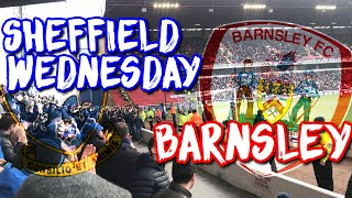 ✈*Away Vlog* Sheffield Wednesday vs Barnsley FC💙