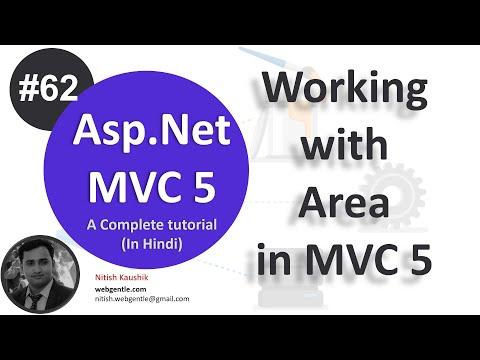 62) Area in mvc 5 | mvc tutorial for beginners in  net c#