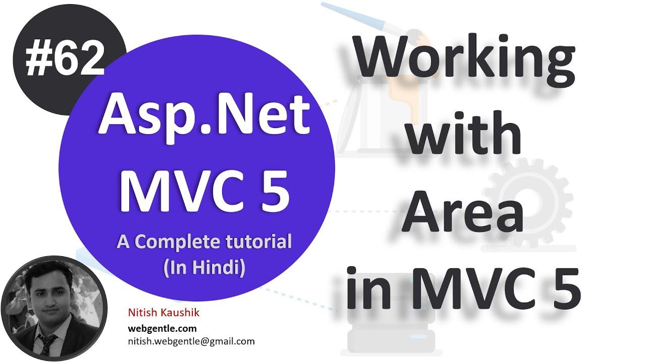 (#62) Area in mvc 5 | mvc tutorial for beginners in  net c# | MVC By Nitish