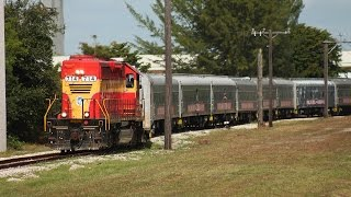 The Last Ringling Brothers, Barnum and Bailey Circus Train on FEC - Part 1