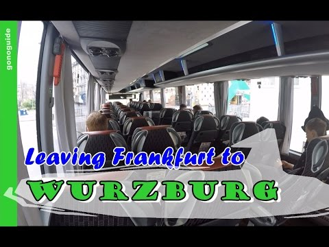 [เที่ยวยุโรป] Leaving Frankfurt to Wurzburg via flixbus : Germany-Austria Travel Vlog Ep28