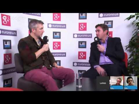 "LeWeb'13 Paris - Hangout with Brady Forrest, Highway1 LeWeb Paris 2013 ""The Next 10 Years"""