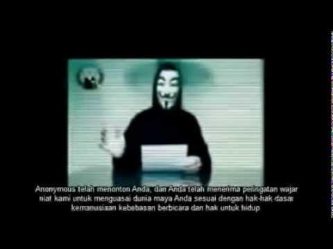 Hacker Anonymous Bela Palestina