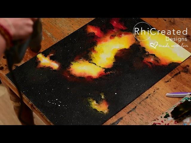 Genesis Acrylic Painting Timelapse