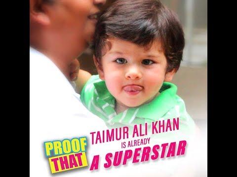 Proof That Taimur Ali Khan Is Already A Superstar | MissMalini
