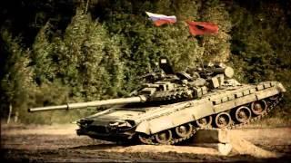 Победа Горловского экипажа на первом танковом биатлоне ДНР