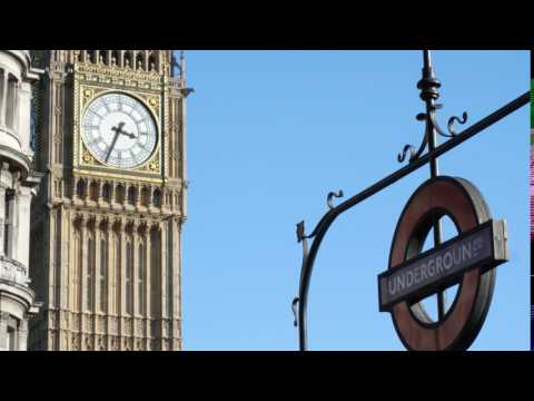 Big Ben & Westminster underground station - 4K ROYALTY FREE VIDEO