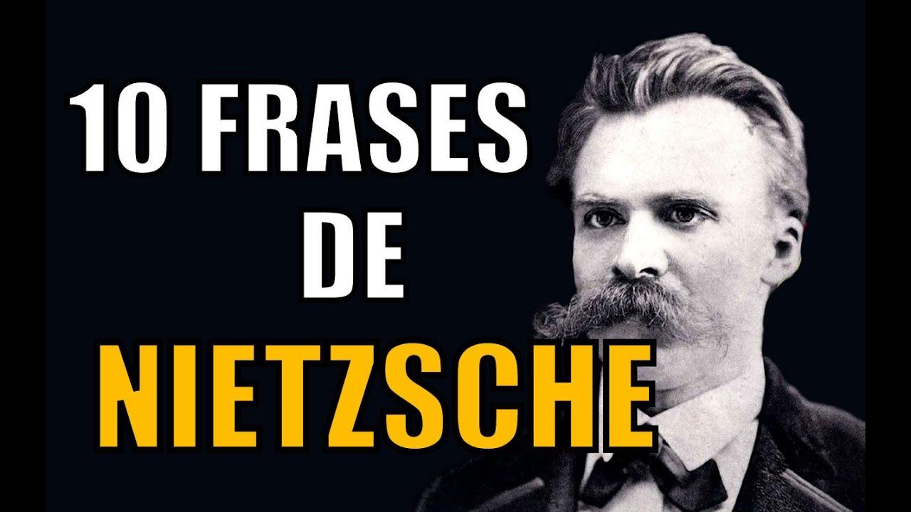 10 Frases De Friedrich Nietzsche