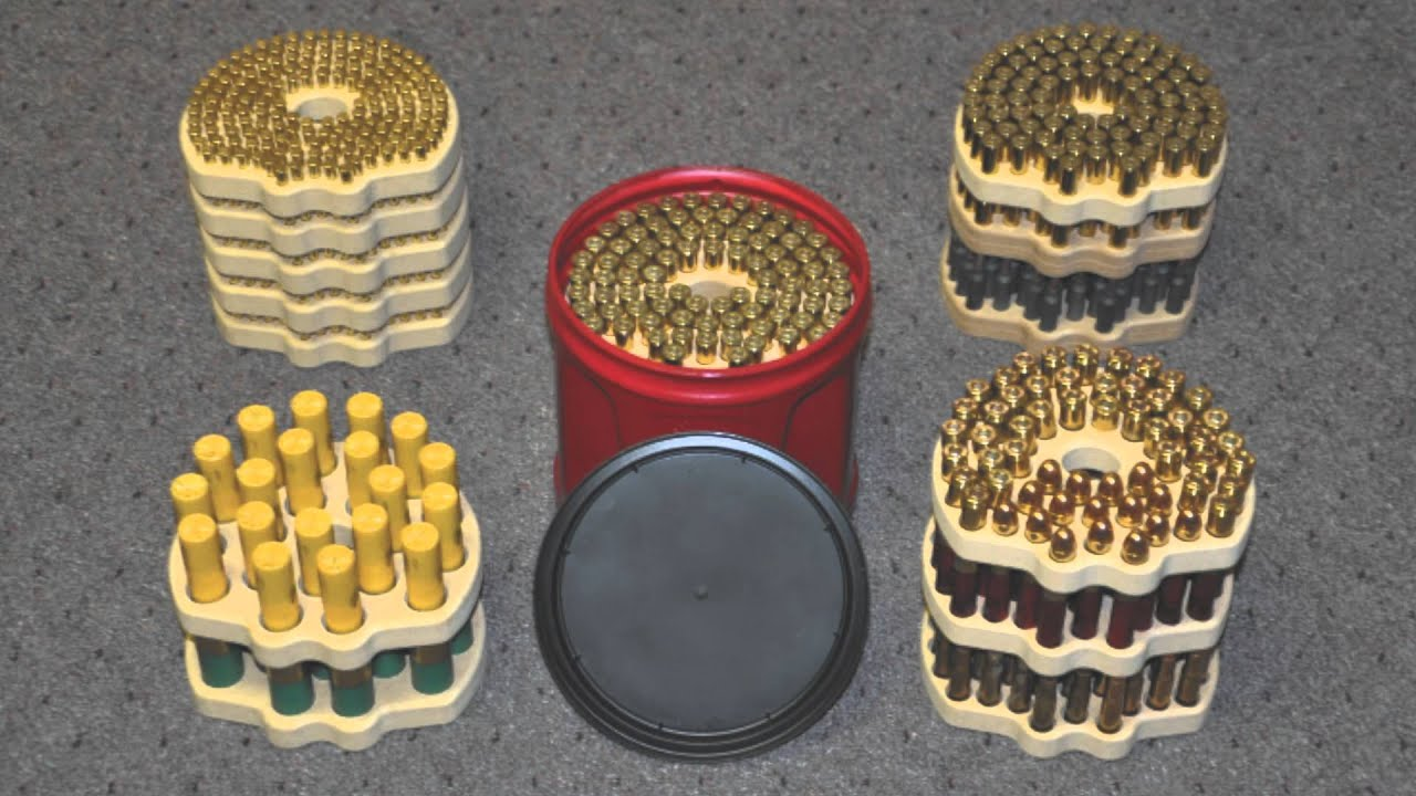 AMMO STORAGE TRAY VIDEO YouTube