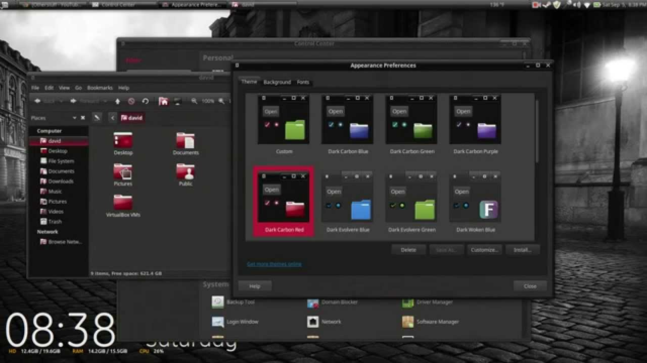 Two other dark themes for Mint MATE  YouTube