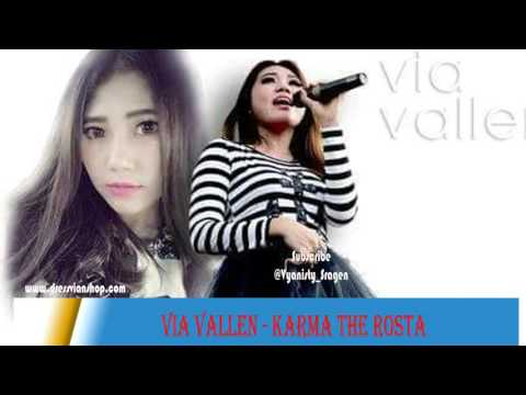 Via Vallen   Karma The Rosta Live 2016 @via vallen