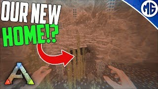 OUR NEW HOME! No Clue BASE TOUR! 3 Man PvP Servers - Ark: Survival Evolved thumbnail