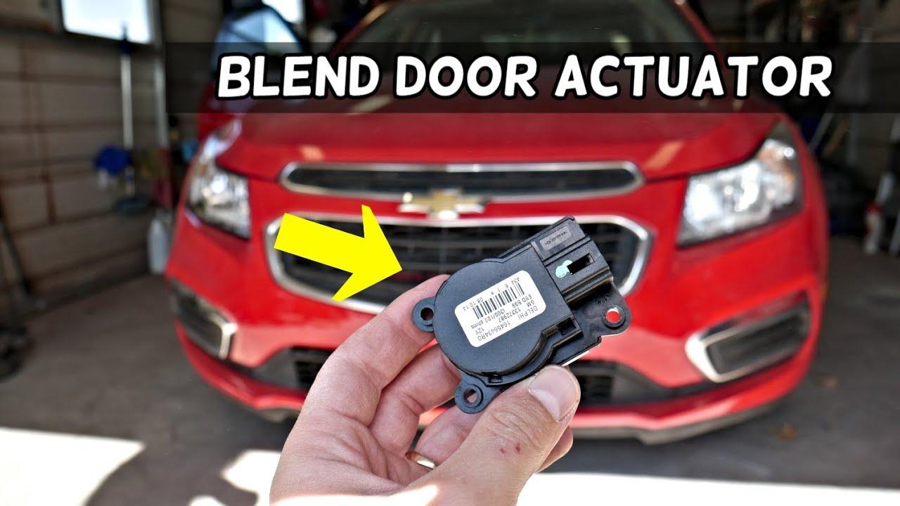 Chevrolet Cruze Blend Door Actuator Location Replacement Removal Youtube