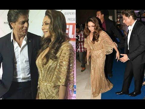 Shahrukh Khan AndGauri Khan Gave Couple Goals To At Hello Hall Of Fame Awards 2018