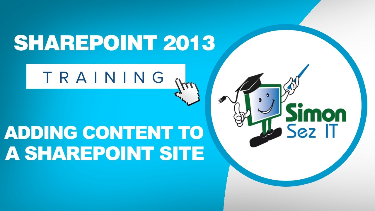 Sharepoint beginner training for end users youtube.