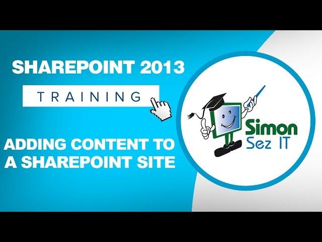 Microsoft SharePoint 2013 Training Tutorials