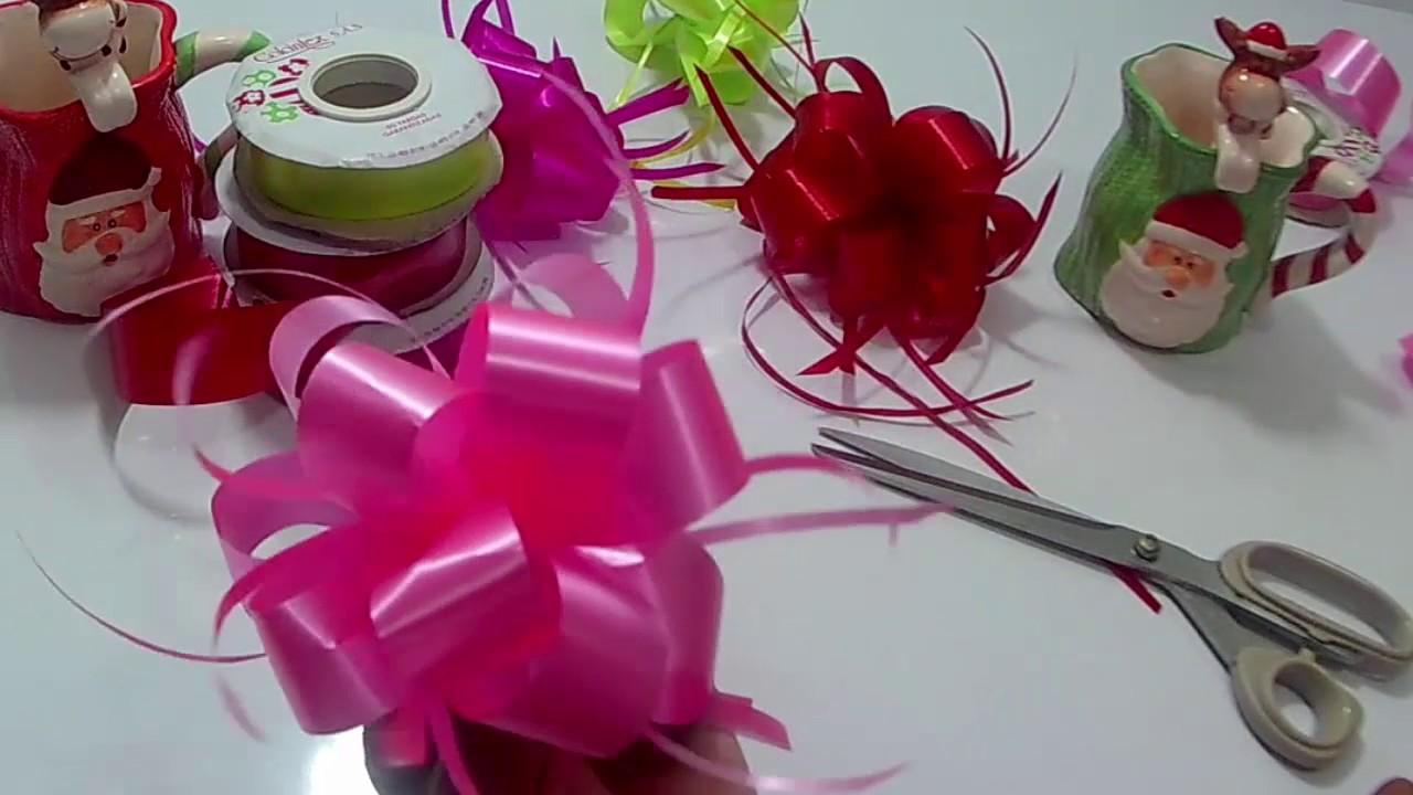 Lazos decorativos para regalos lazos decorativos para - Como hacer lazos decorativos ...