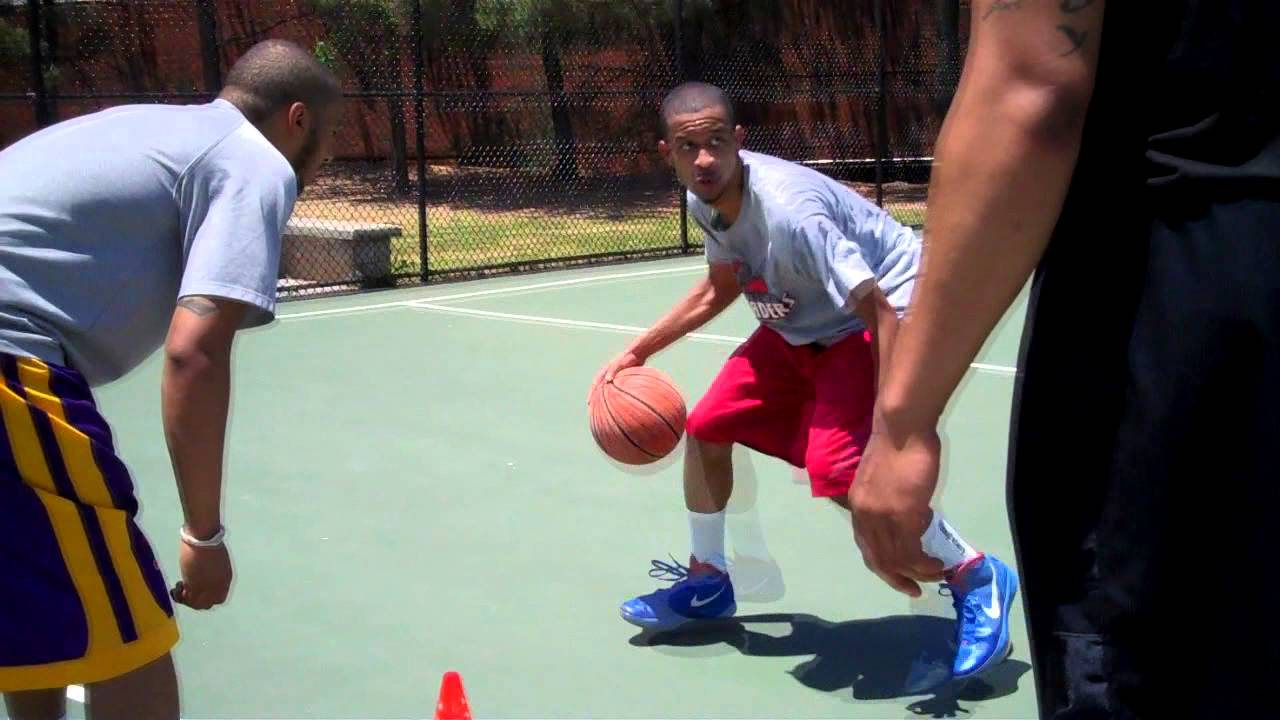 machine gun basketball drill