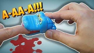 ШОК ! МЕНЯ УКУСИЛ КРОКОДИЛ! Крокодил стоматолог игрушка с Aliexpress - TimOn ChaveS